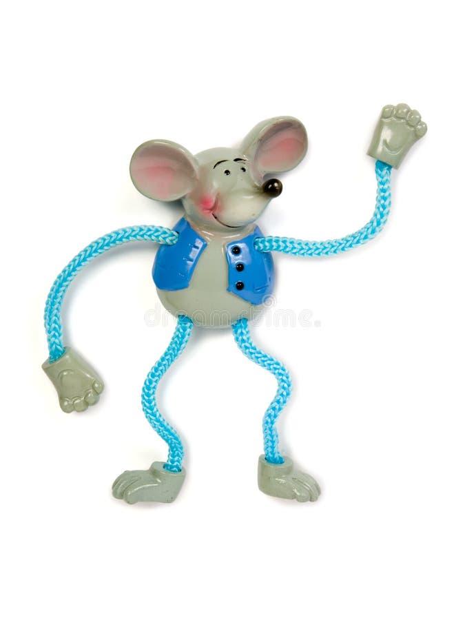 Het dansen van het stuk speelgoed muis royalty-vrije stock fotografie