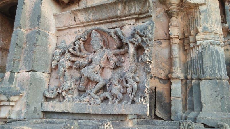 Het dansende Shiva-achtergedeelte stelt stock foto