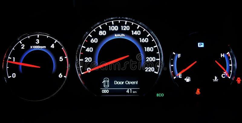 Het dashboard van de auto royalty-vrije stock afbeeldingen