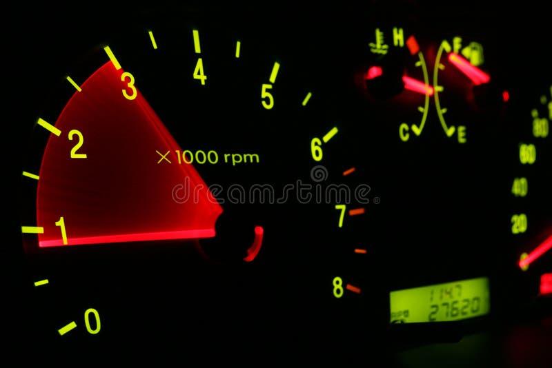 Het dashboard van de auto royalty-vrije stock afbeelding