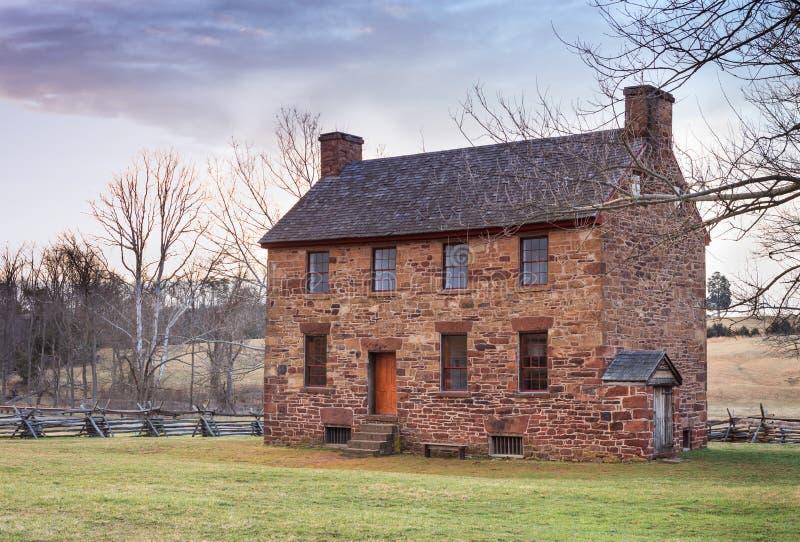 Het de Burgeroorlogziekenhuis van het Steenhuis stock foto's