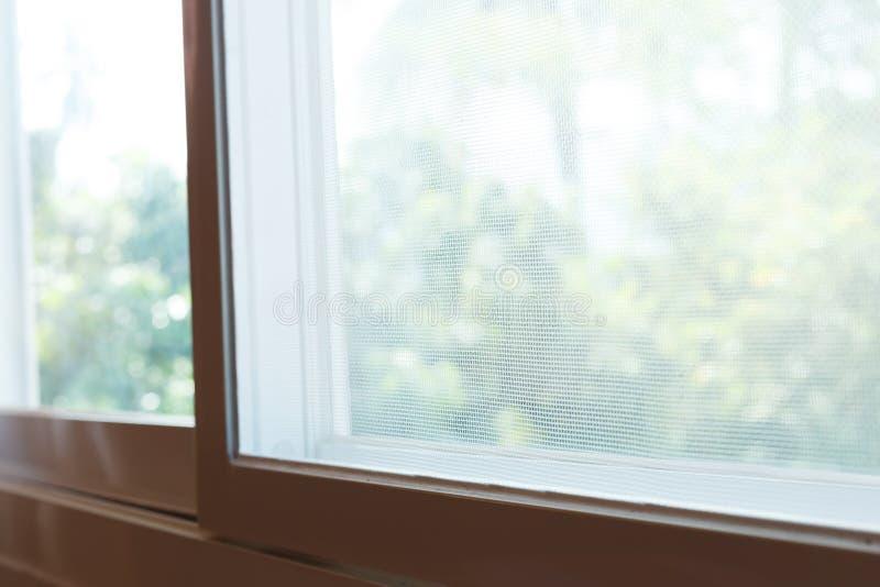 Het de draadscherm van de venstermug stock afbeeldingen