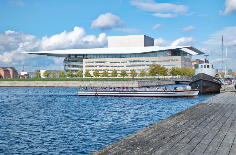 Het de Operahuis van Kopenhagen, royalty-vrije stock fotografie