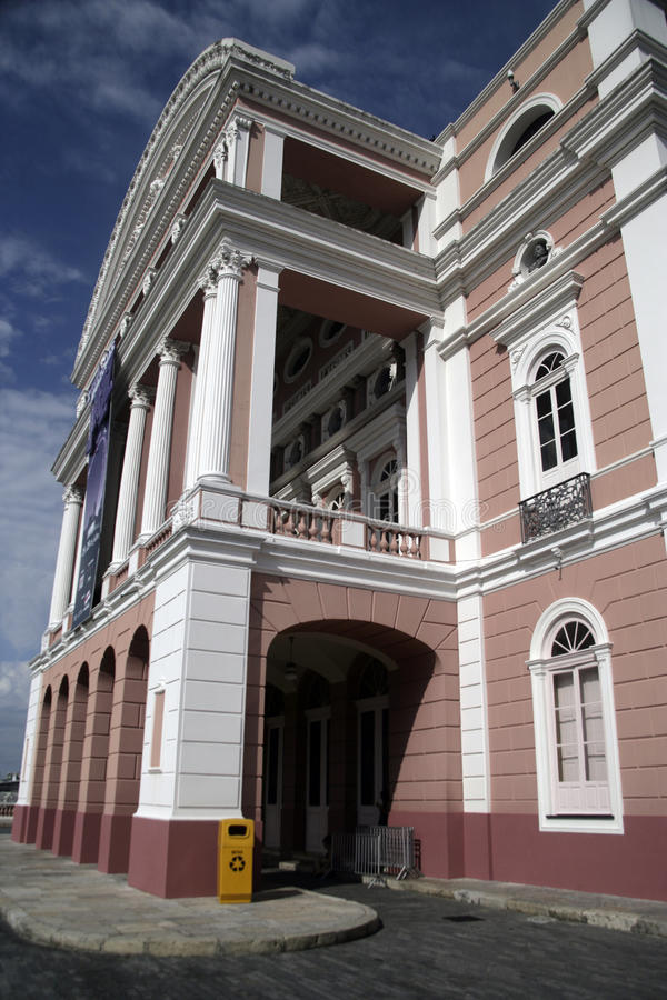 Het de Operahuis van Manaus royalty-vrije stock foto's