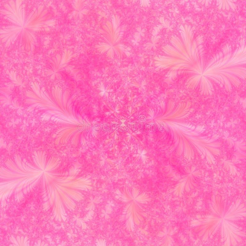 Het de roze Abstracte Achtergrond van het Ontwerp of Behang van het Web royalty-vrije illustratie