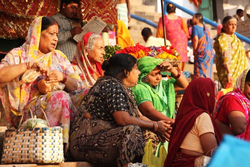 Het de stadsleven van India royalty-vrije stock afbeeldingen