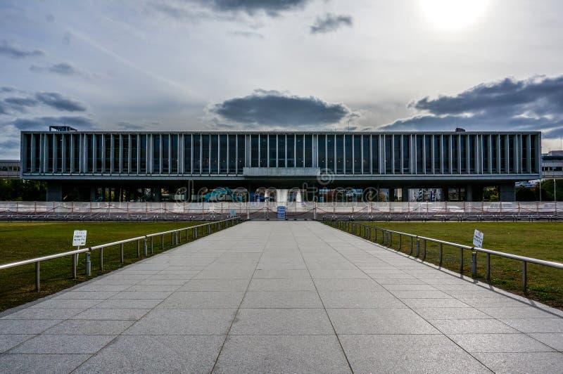 Het de Vredes Herdenkingsmuseum van Hiroshima stock fotografie