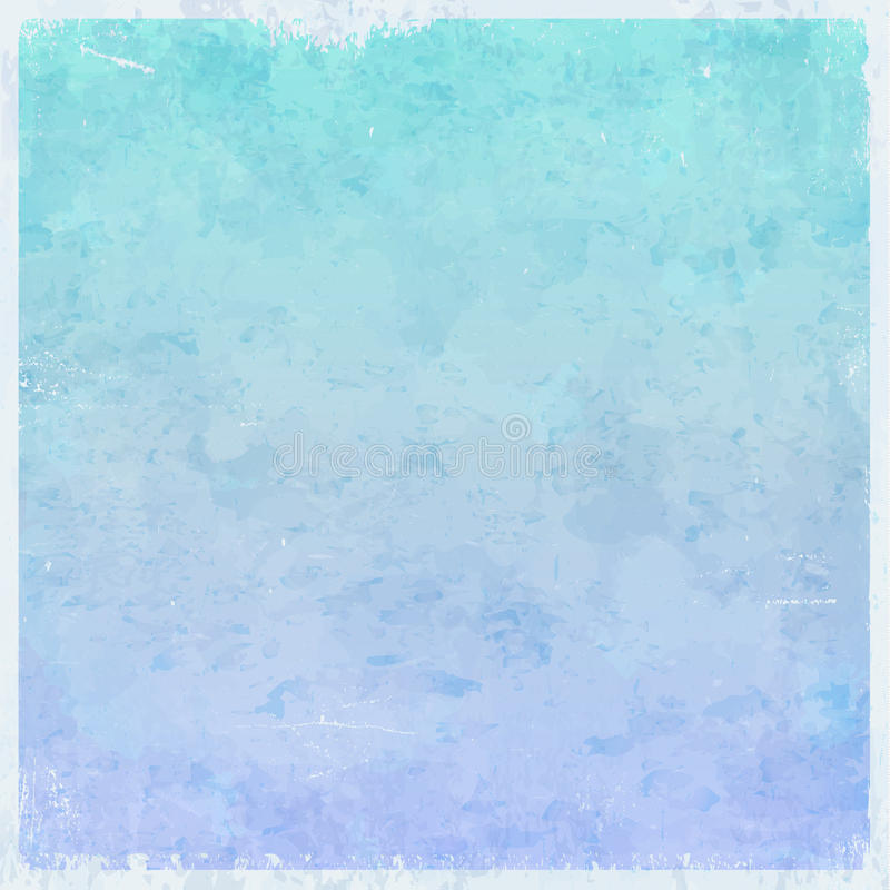 Het de winterijs als thema had grungy achtergrond vector illustratie