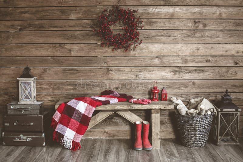 Het decor van Kerstmis stock afbeeldingen