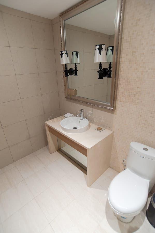 Het deel van de badkamers stock afbeeldingen