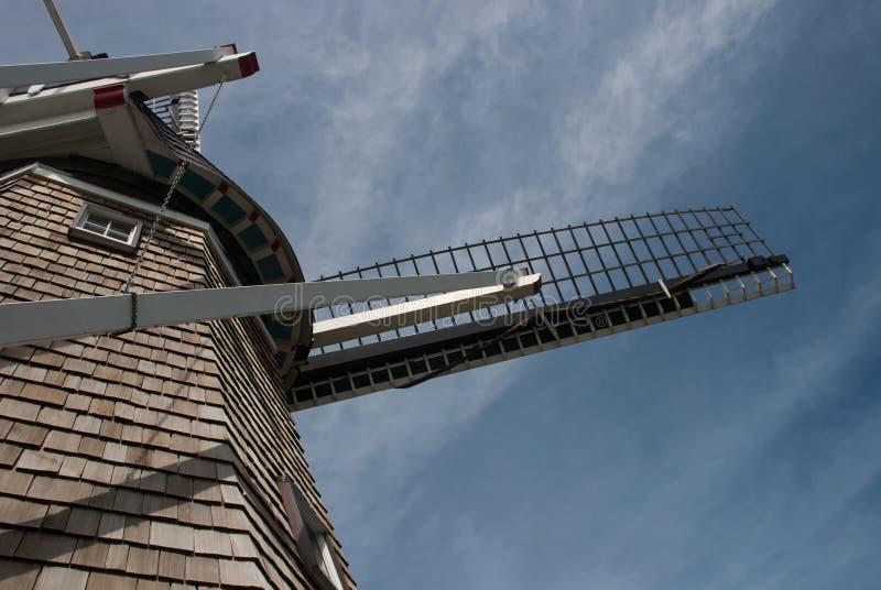 Het deel van de DeZwaan-Windmolen, Windmoleneiland tuiniert, Holla royalty-vrije stock foto's