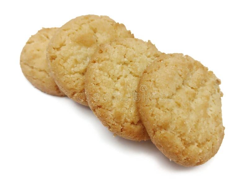 Het Deense koekje van stijl boterkoekjes royalty-vrije stock foto's