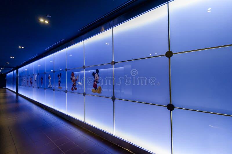 Het Dek van de Observatie SWFC, Shanghai royalty-vrije stock afbeeldingen