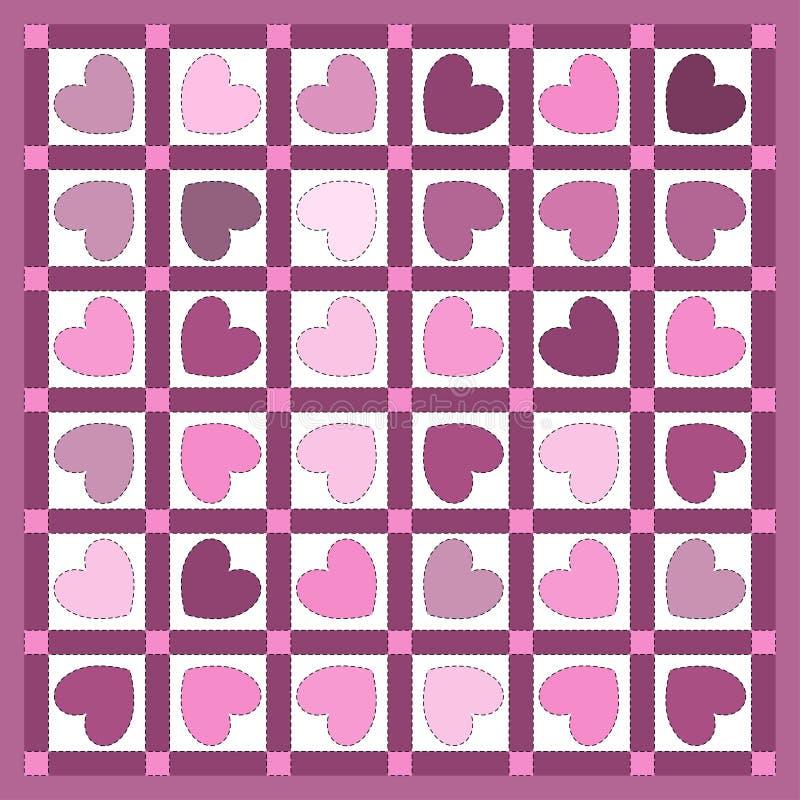 Het Dekbed van het hart royalty-vrije illustratie