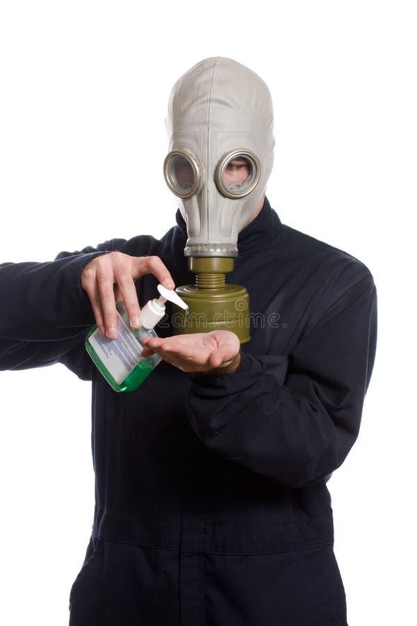Het Desinfecterende middel van de hand stock fotografie