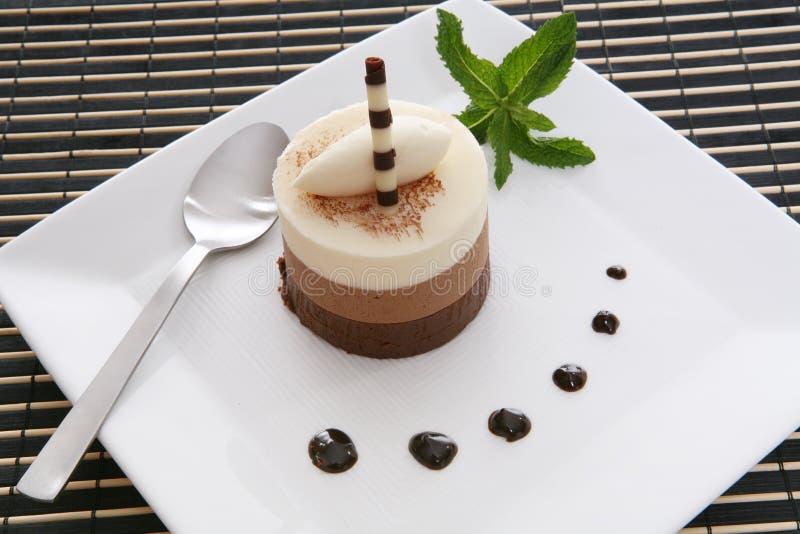 Het Dessert van de cake royalty-vrije stock afbeeldingen