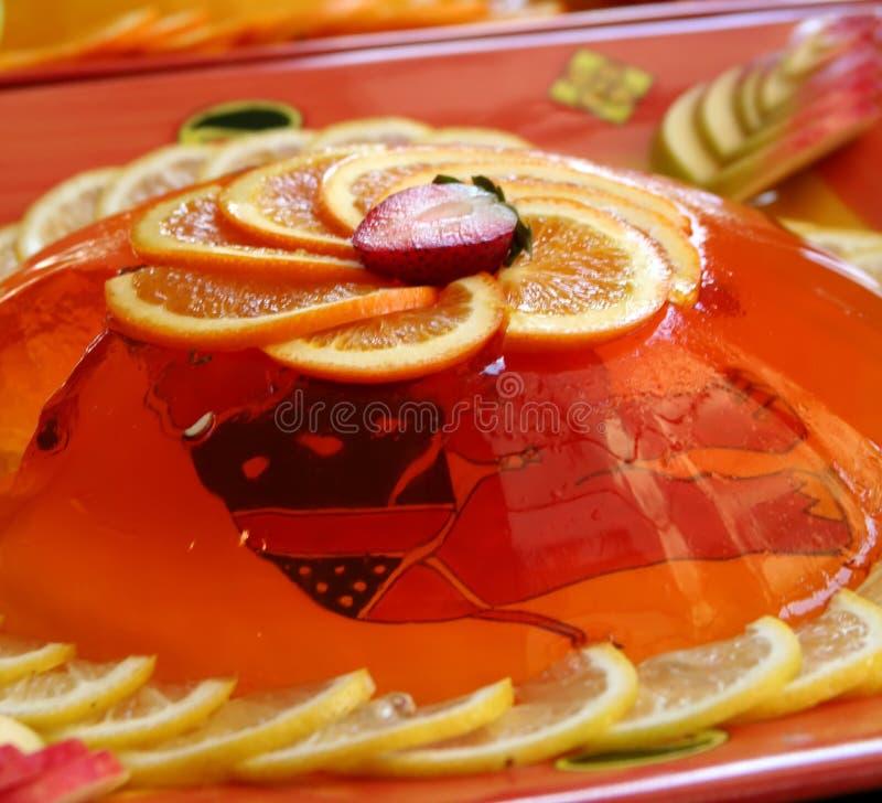 Het dessert van de gelei stock foto's