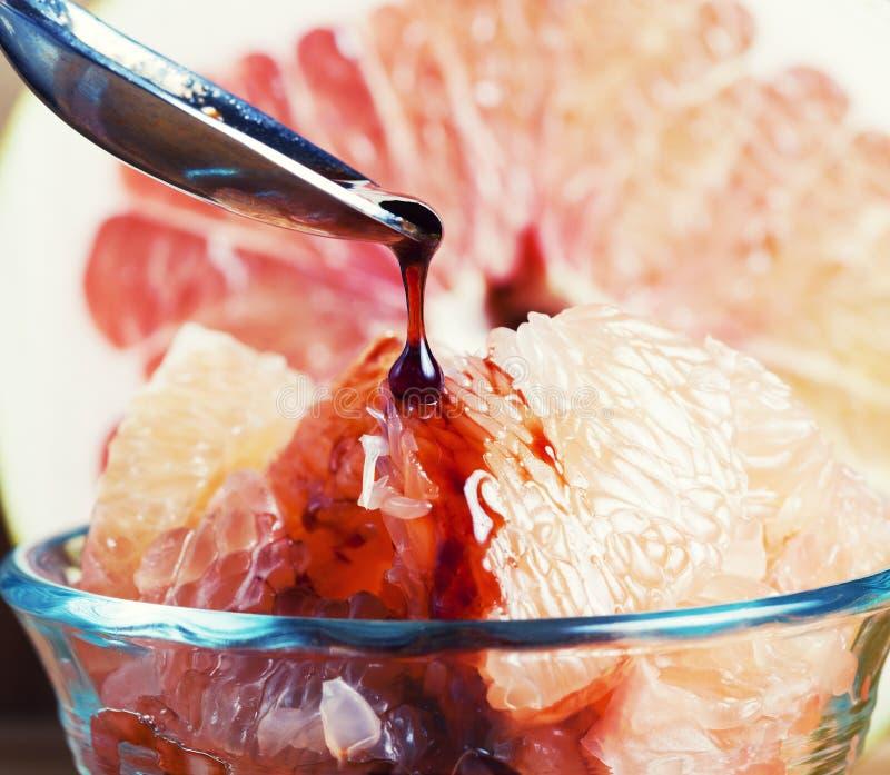 Het Dessert Van De Grapefruit Stock Afbeelding