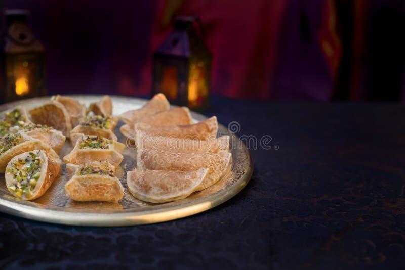 Het Dessert van de Ramadan stock fotografie