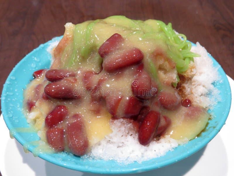 Het dessert van Duriancendol stock fotografie