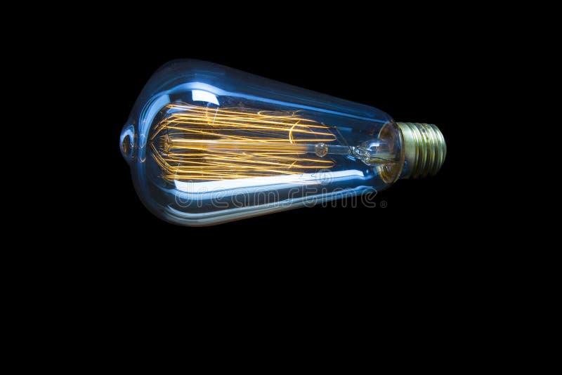 Het detail van blauwe lichte nadruk vangt stock afbeelding
