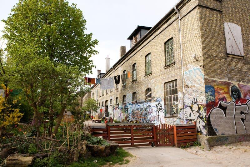 Het Detail van Christiania stock afbeelding