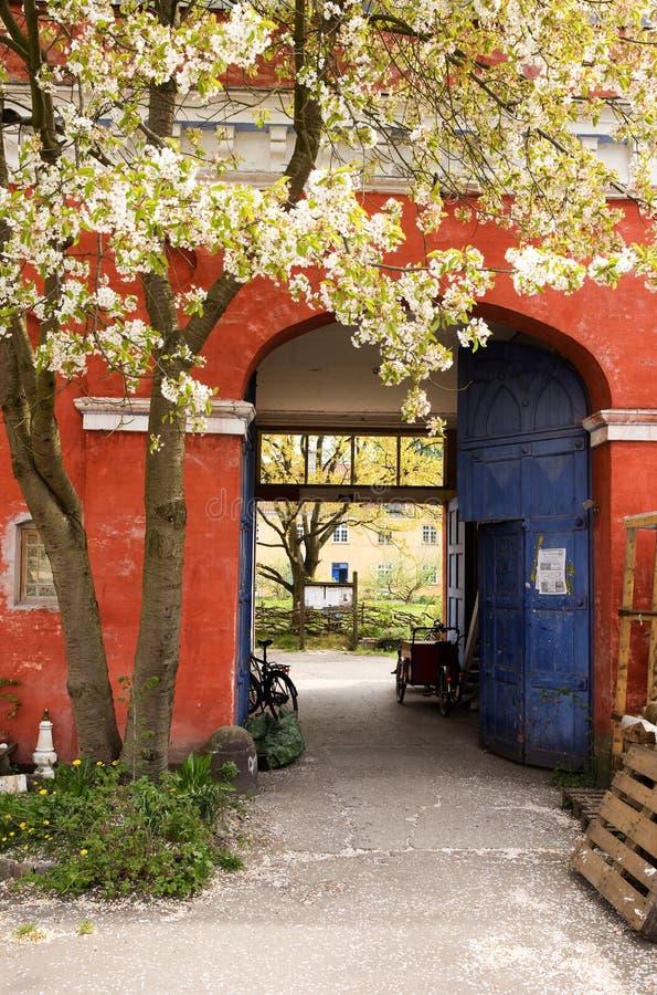 Het Detail van Christiania stock afbeeldingen