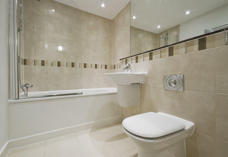 Het detail van de badkamers stock afbeeldingen