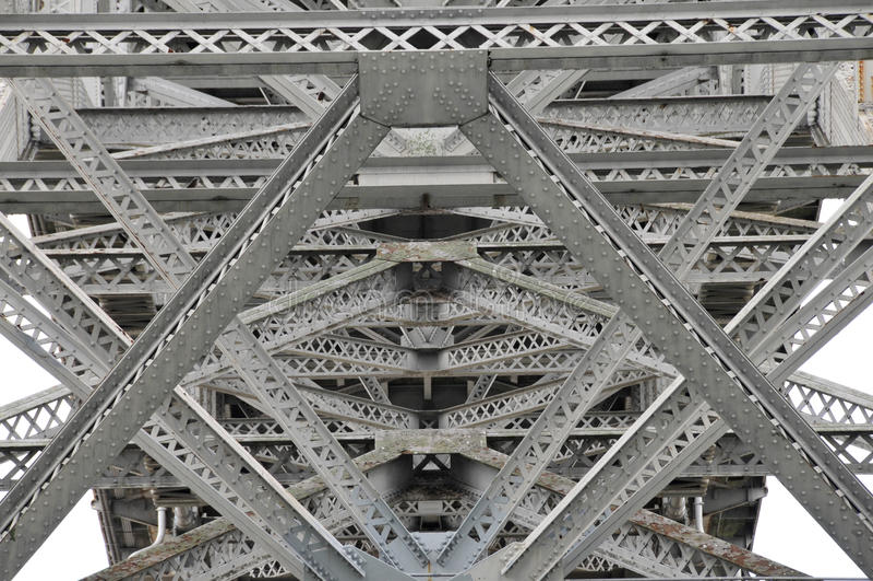 Het detail van de brug. royalty-vrije stock fotografie