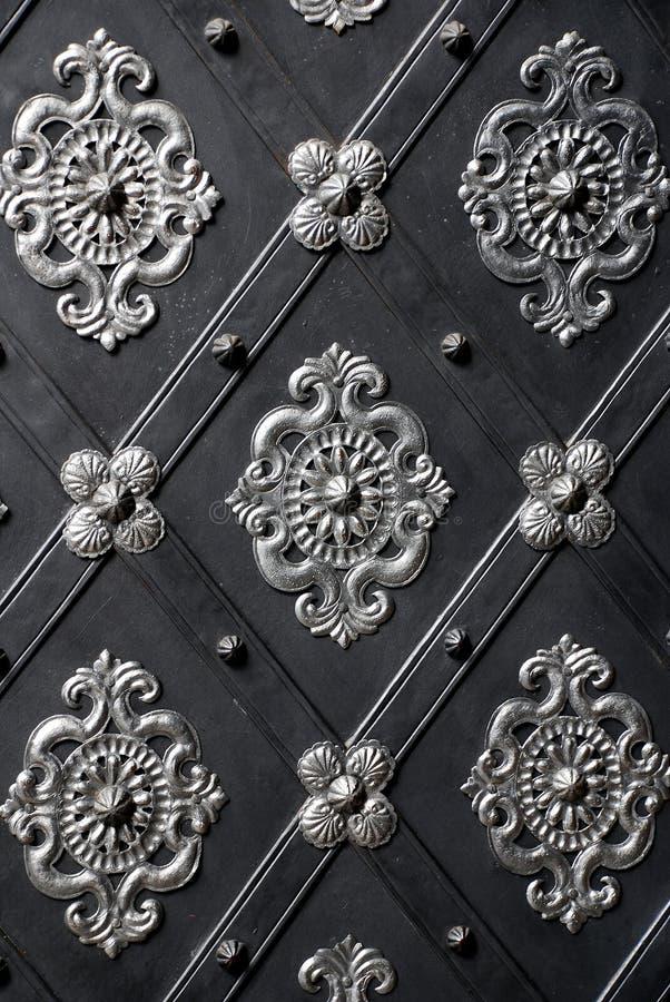 Het detail van de deur stock foto's