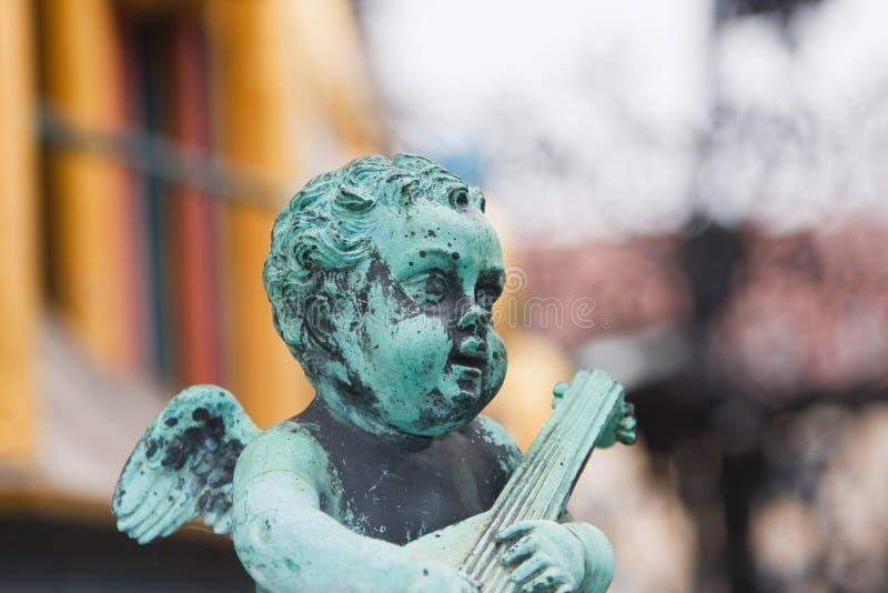 Het detail van de fontein royalty-vrije stock afbeelding