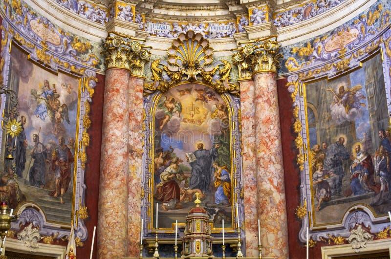Het detail van de kerk royalty-vrije stock afbeeldingen