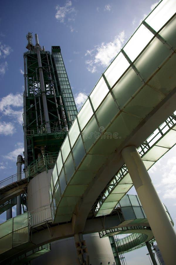 Het Detail van de raffinaderij royalty-vrije stock foto's