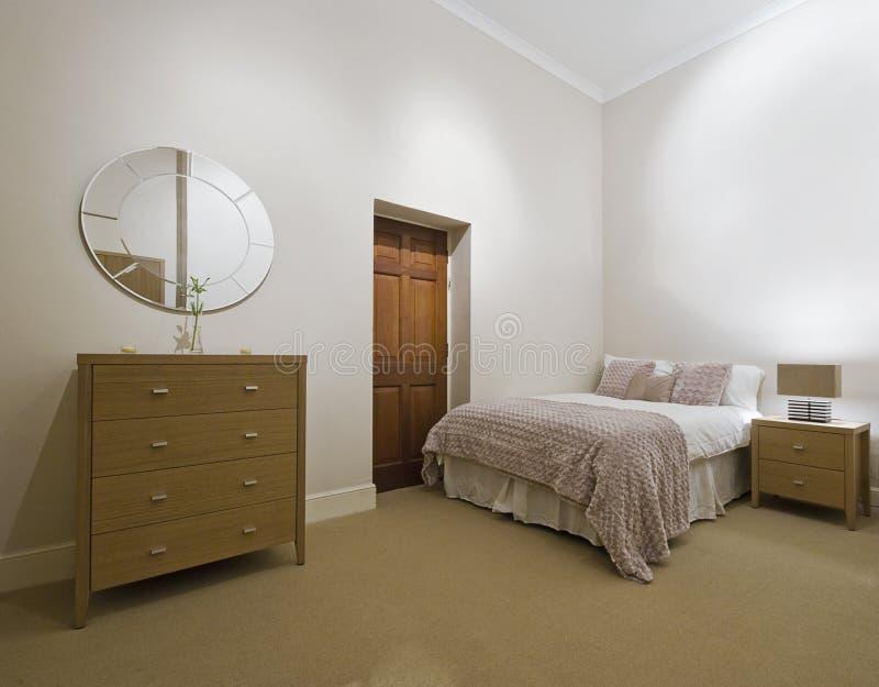Het detail van de slaapkamer stock foto's