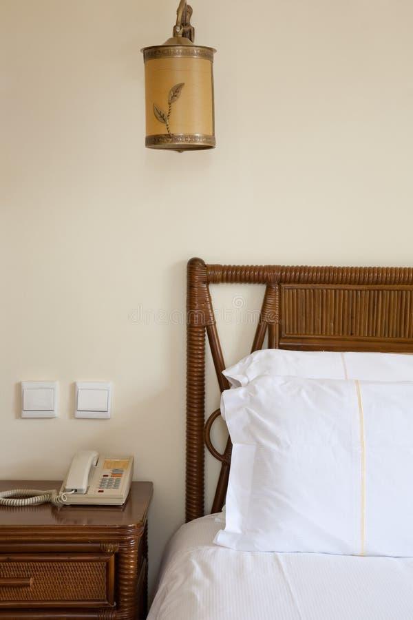 Het detail van de slaapkamer royalty-vrije stock afbeeldingen
