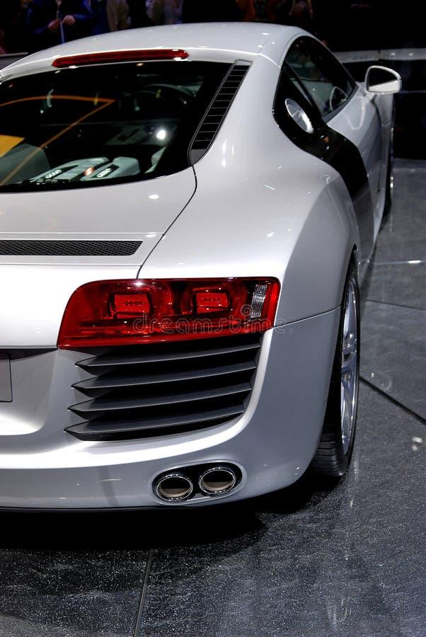 Het detail van de sportwagen stock fotografie