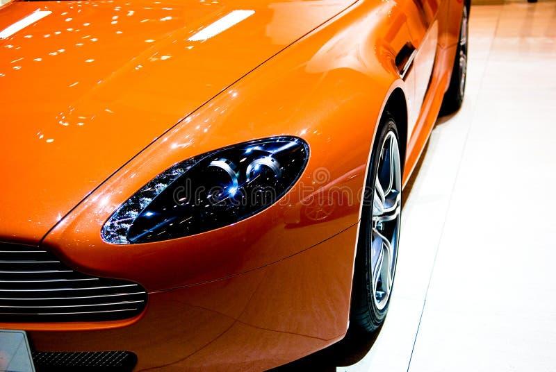 Het detail van de sportwagen stock foto
