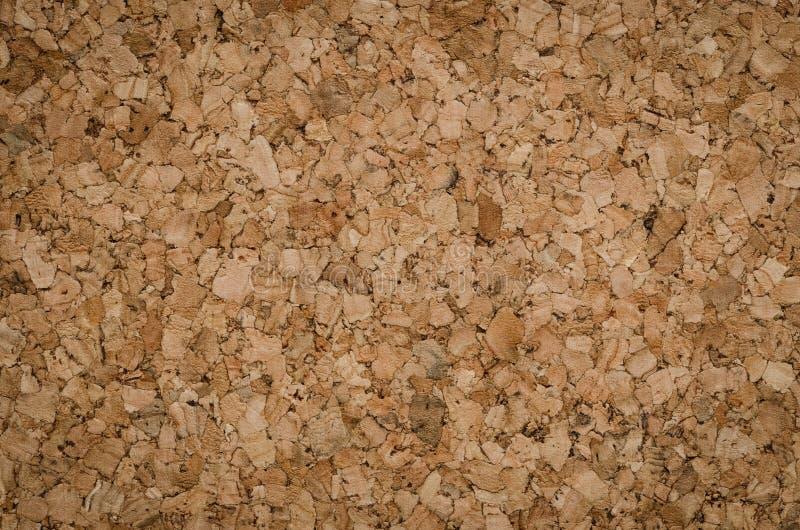 Het Detail van de textuurkleur van Oppervlakte Cork Board Wood Background stock foto's