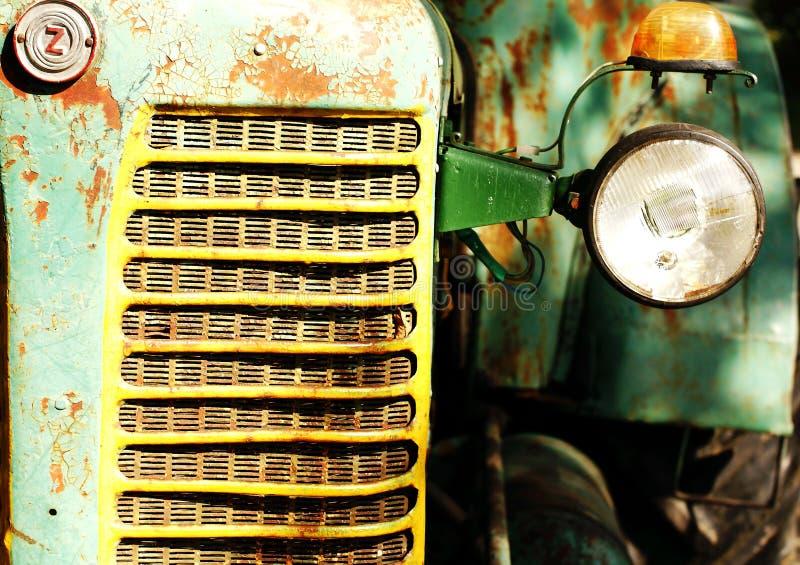 Het Detail van de tractor stock foto's