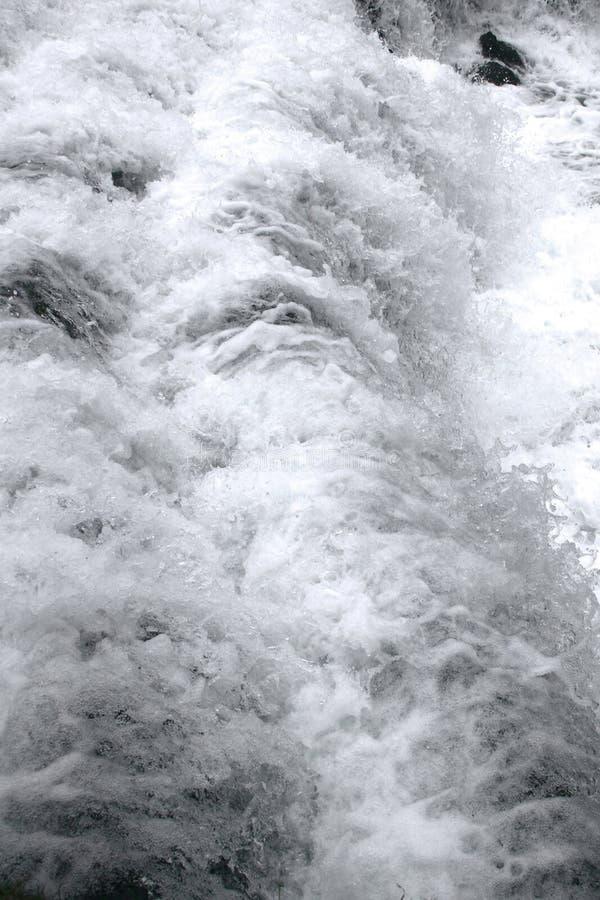Het detail van de waterval stock afbeeldingen