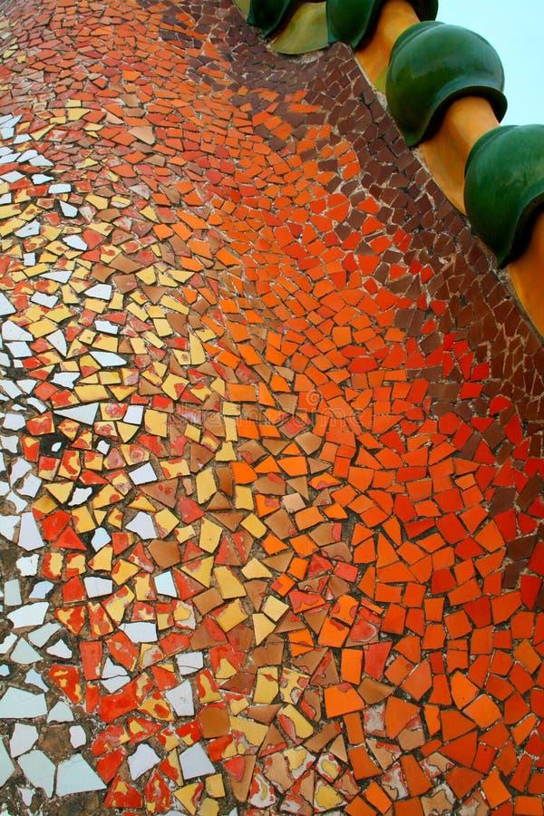 Het detail van Gaudi stock afbeelding