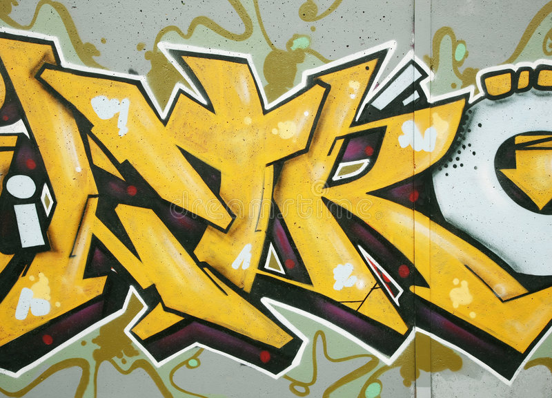 Het detail van Graffiti stock afbeeldingen