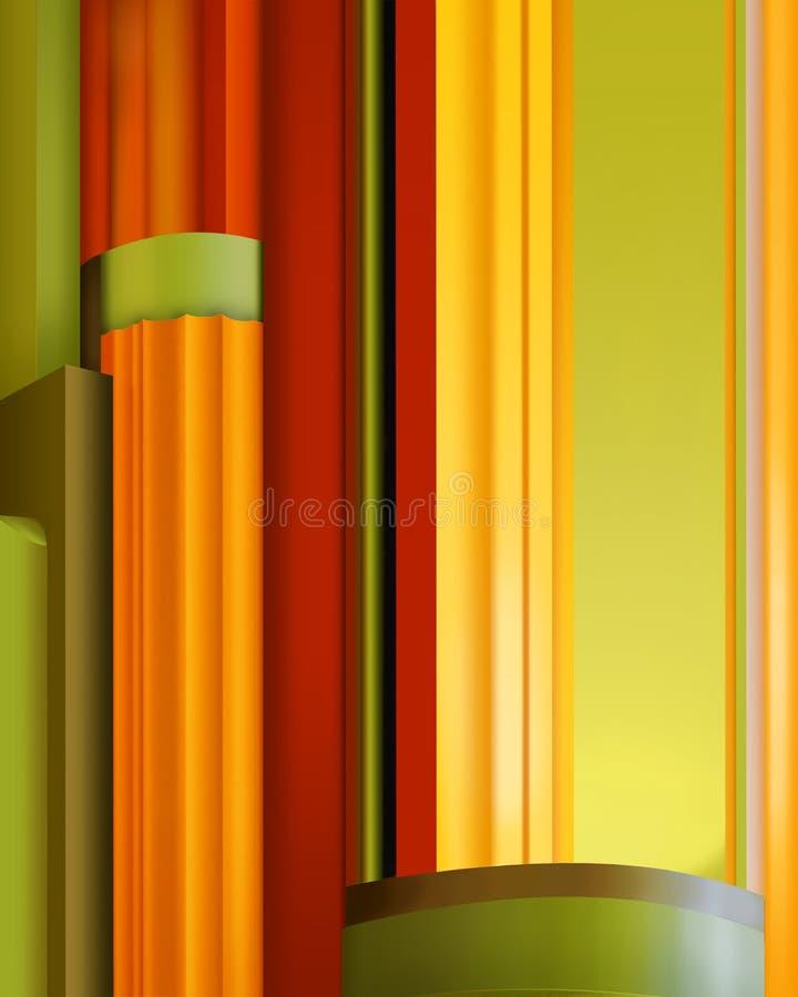 Het Detail van het art deco royalty-vrije stock afbeelding