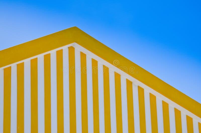 Het detail van het dak stock fotografie