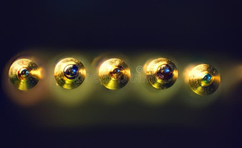 Het detail van penuiteinden stock fotografie