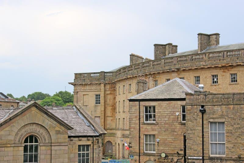 Het Devonshire Koninklijke Ziekenhuis, Buxton royalty-vrije stock afbeelding