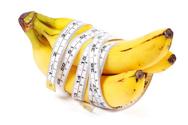 Het Dieet van de banaan stock foto