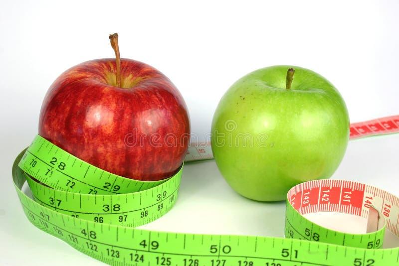 Download Het Dieet van twee Appel stock foto. Afbeelding bestaande uit gezond - 297294
