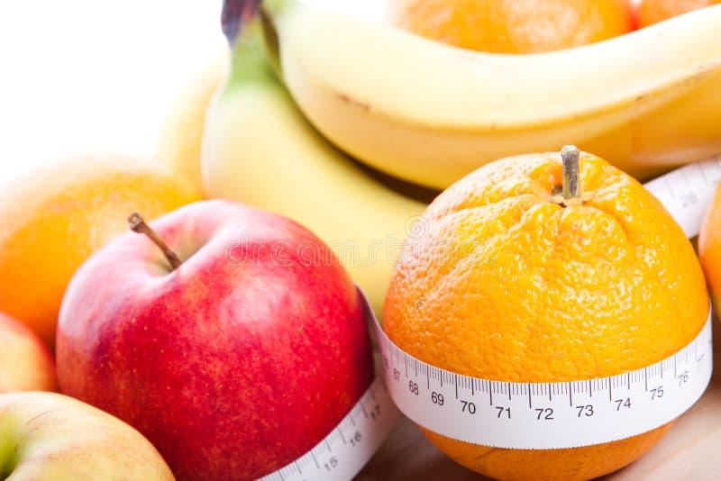 Het Dieet van vruchten stock afbeelding
