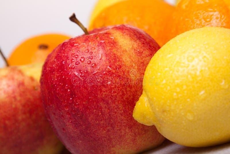 Het Dieet van vruchten stock fotografie